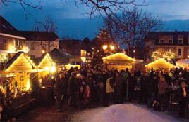 Kerstmarkt in Sevelen