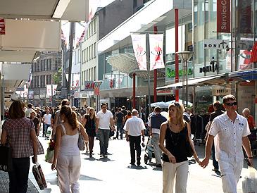 Winkelen in Duitsland blijft goedkoop