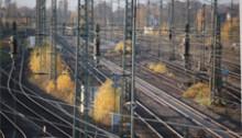 spoorweg bij Emmerich