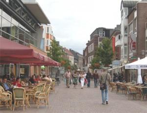 koopzondag in Bocholt winkelen in Duitsland