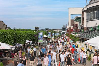 Centro Oberhausen winkelen in Duitsland