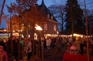 Kerstmarkt bij Borghees in Emmerich