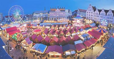 kerstmarkt in Duisburg