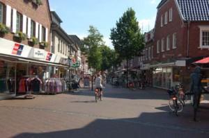 Winkelen in Duitsland - Vreden centrum