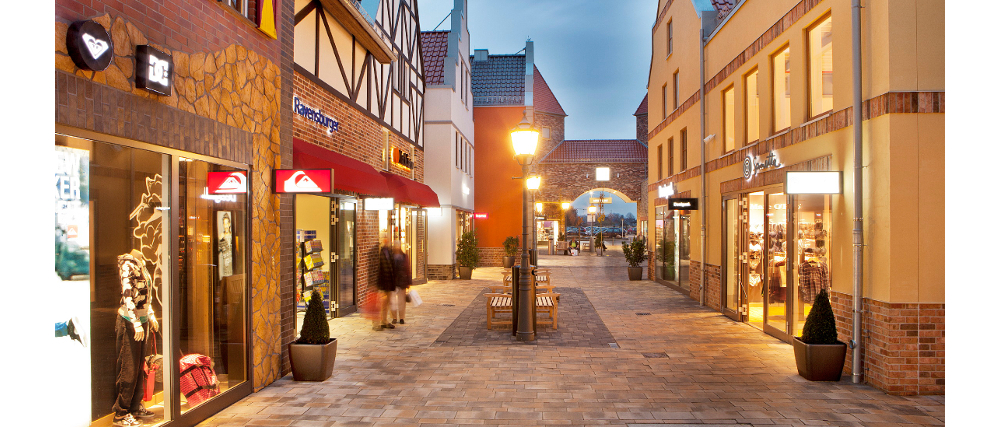 Factory Outlet Center in Ochtrup