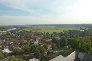 Wonen in Duitsland: Uitzicht vanaf SchwanenBurg Kleve