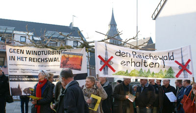 protest Reichswald