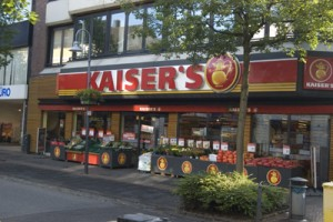 winkelen in Duitsland - supermarkten Duitsland - kaiser's