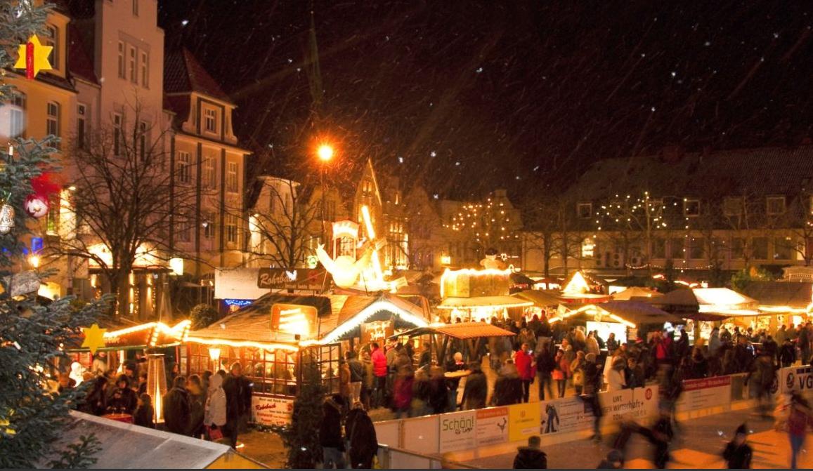 Kerstmarkten In Het Sinterklaasweekend Grensgangers