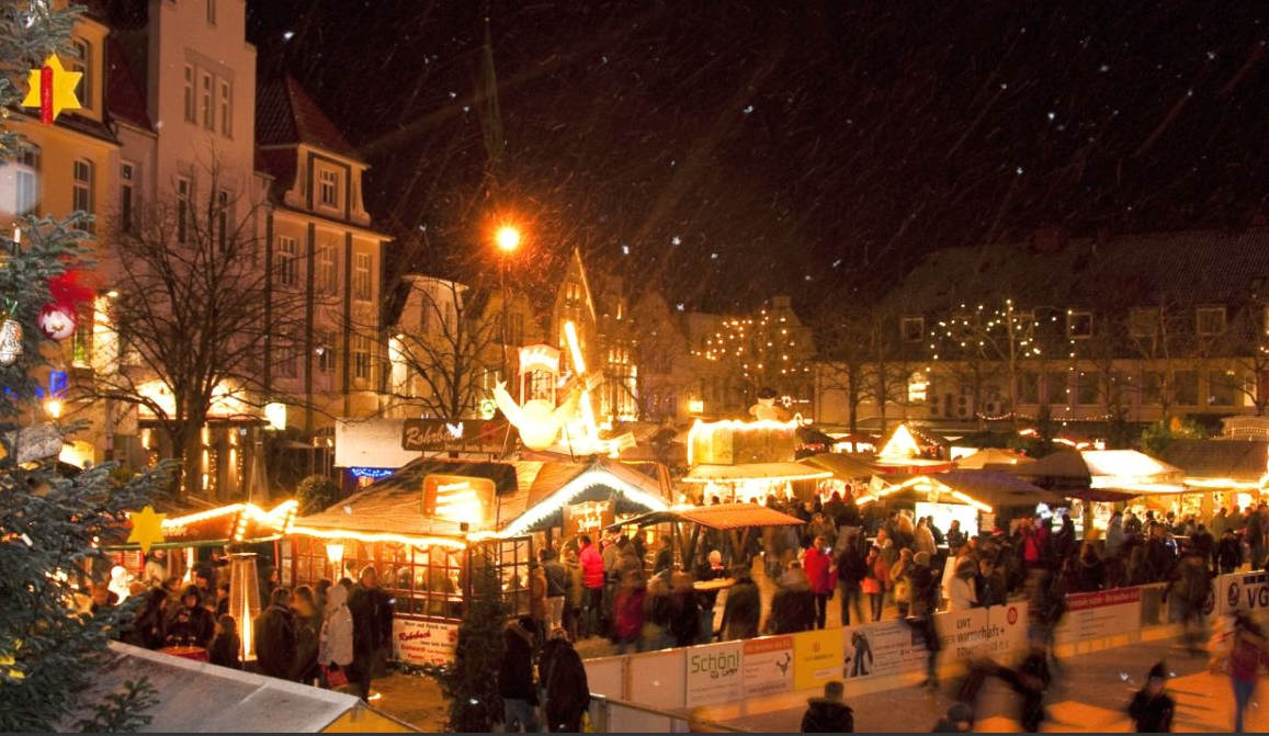 Kerstmarkten komend weekend