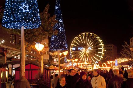 Winkels En Kerstmarkt Na Kerst Open Grensgangers