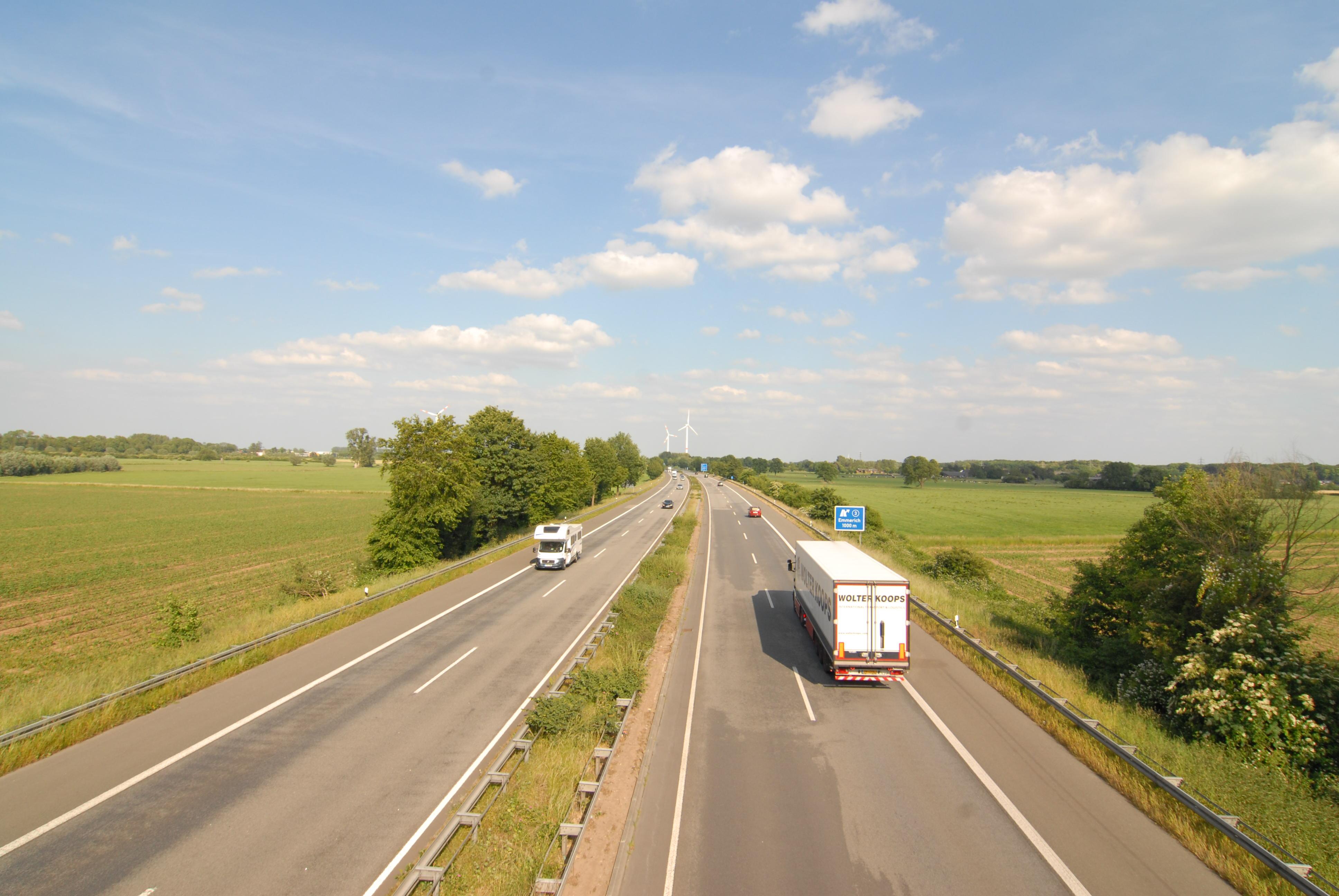 Deel snelweg bij Emmerich afgesloten
