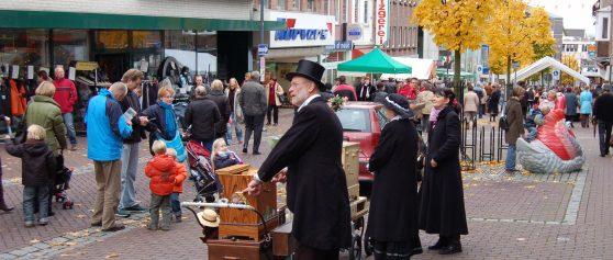Koopzondag met draaiorgels en rommelmarkt in Kleve
