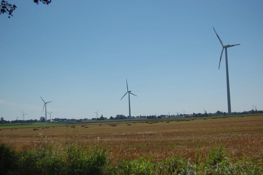 windenergie Duitsland bij Uedem