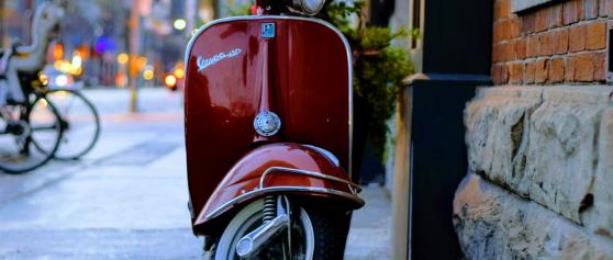 Met de scooter naar Duitsland